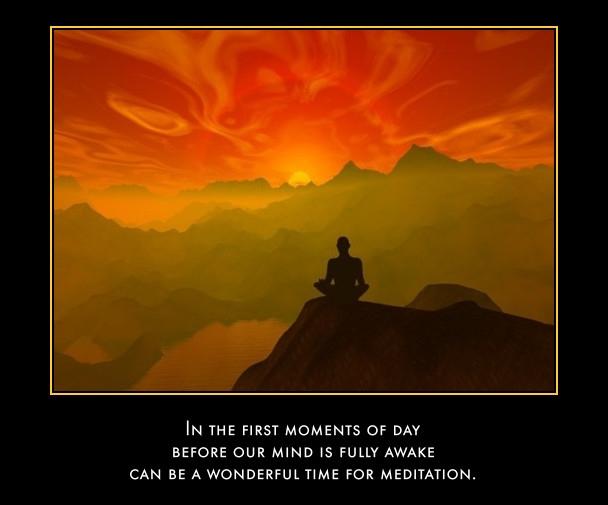Morning meditation 5 minutes