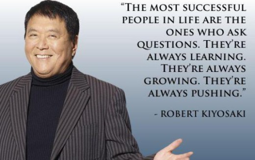 Robert Kiyosaki: 16 Inspirational Image Quotes on Money