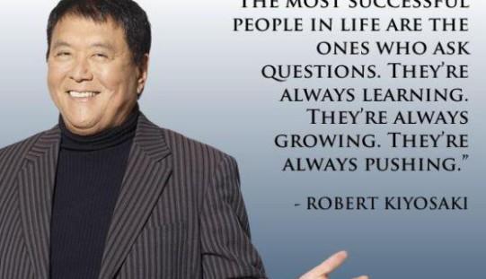 Robert Kiyosaki: 16 Inspirational Image Quotes on Money