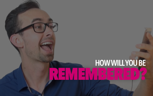 How Will You Be Remembered Online?