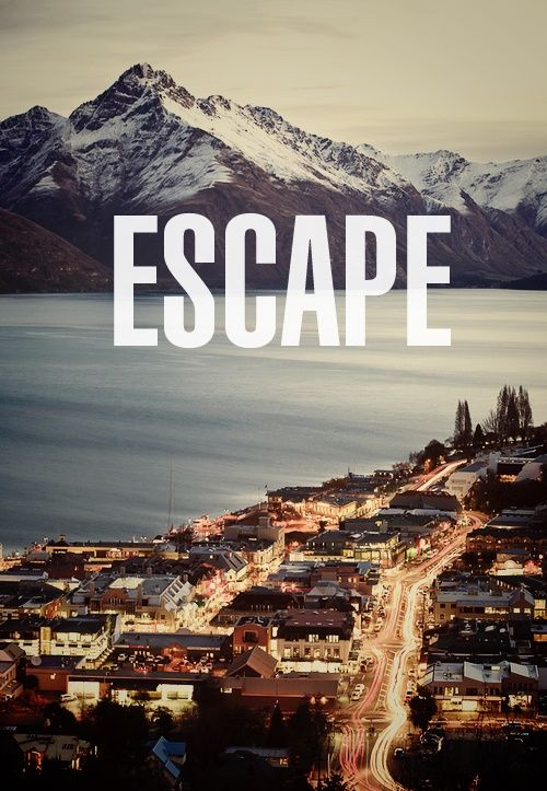 Travel Quote - Escape.