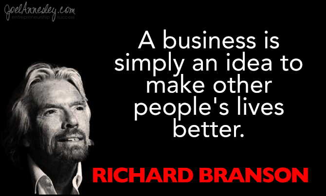 Business Quotes | 30 Inspirational Richard Branson Quotes On Business Life