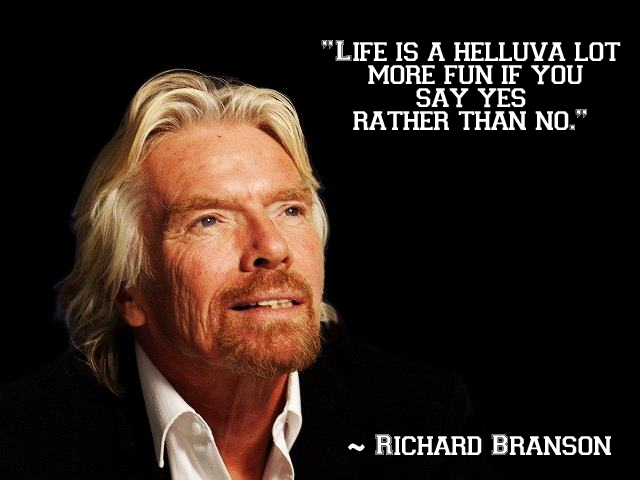 inspirational richard branson quotes on business life